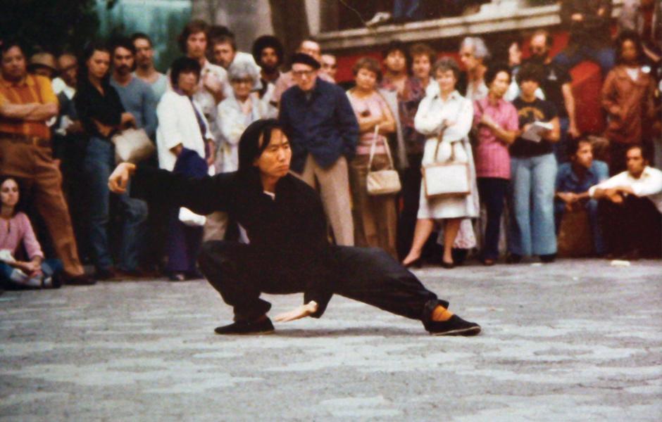 1973 Tai Chi Demonstration Chinatown