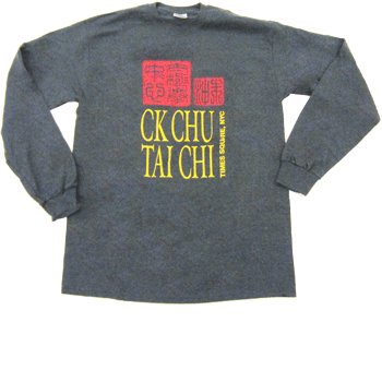 grey stamp tshirt long sleeve